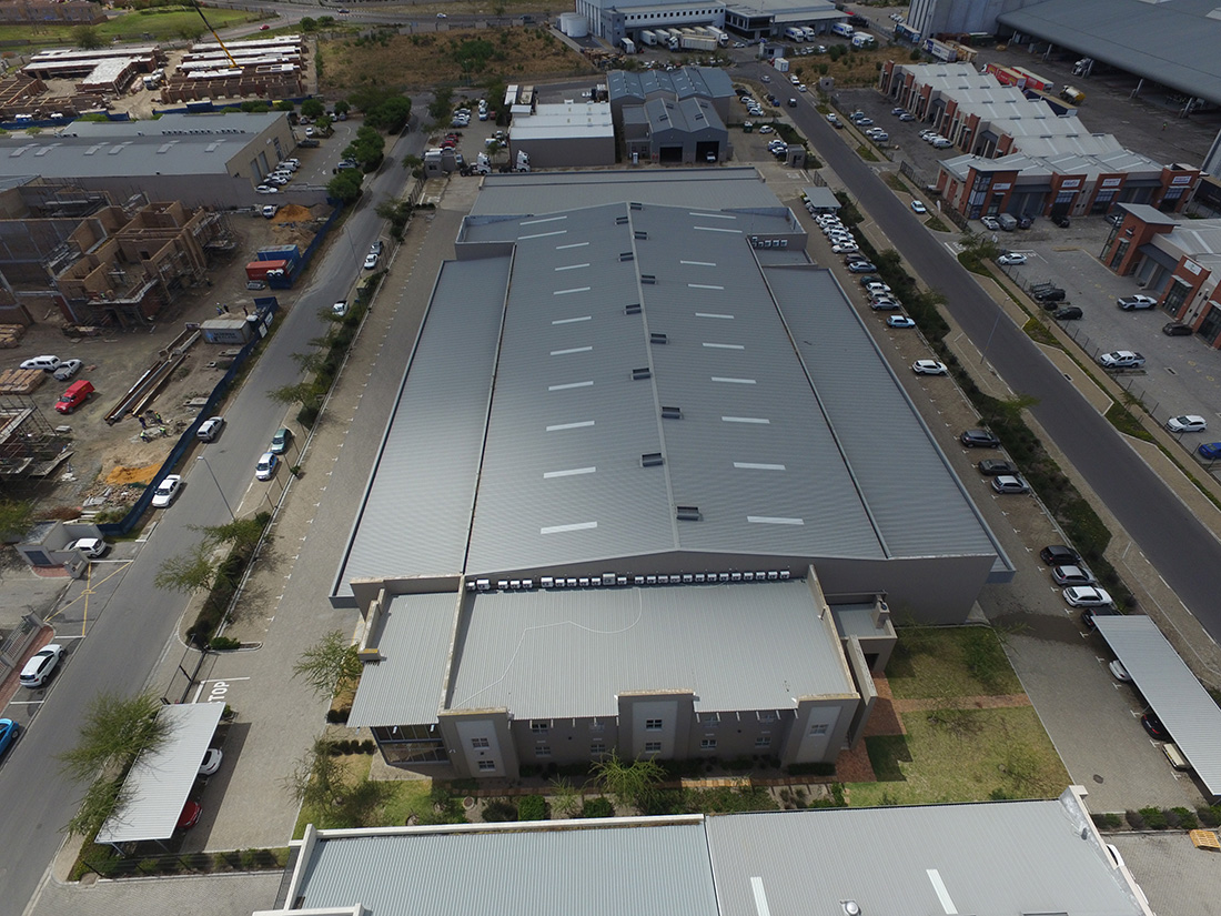 LEMCO steel structures in Brackenfell