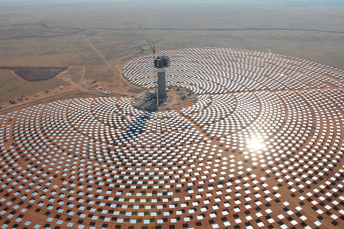 LEMCO Structural Steel Specialists - Khi Solar One Plant