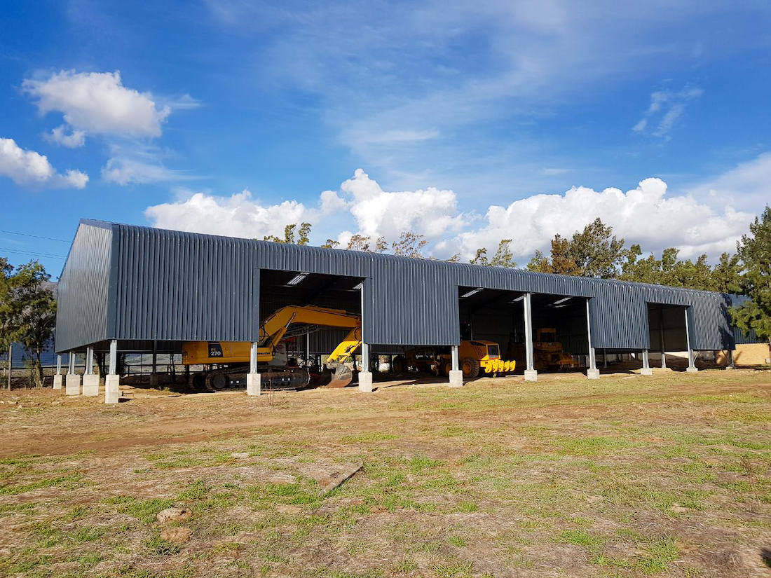 Agricultural Steel Structures Junior Smith Trucking Farm Shed